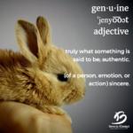 definition of genuine